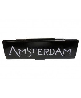 "Black Amsterdam ""Blättchen Metallbox"" für King Size Papers"