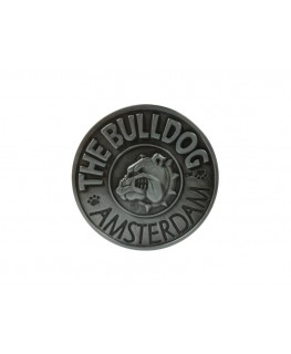 "Originaler The Bulldog Amsterdam ""Metallgrinder"" 2-teilig, mit Magnet & Ø:40mm"