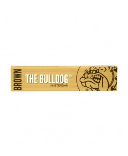 The Bulldog Amsterdam Brown King Size Slim Blättchen/Papers aus ECO Hanf