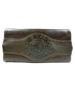 "Original ""Kavatza"" Drehtasche The Bulldog Amsterdam in braun (Bulldog Logo)"