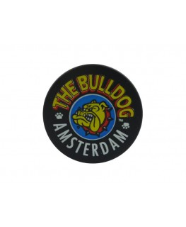 "The Bulldog Amsterdam black ""Metallgrinder mit Sieb"", 3-teilig, Magnet & Ø:40mm"