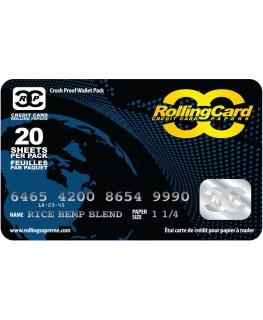 Kreditkarten Papers 1 1/4 Size Frontansicht