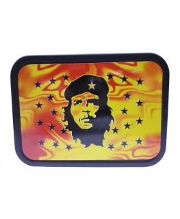 "Che Guevara Sterne ""Metallbox/Tabakdose"" mit Deckel & Gummidichtung."