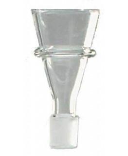 Glaskopf Trichter Siebnut 14,5