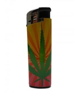 """""""Elektrisches Feuerzeug"""" Cannabis Sun (Nachfüllbar)"""