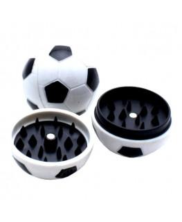 """Acryl """"Grinder/Mühle"""" Fußball 2tlg. & Ø:43mm (Einzelteile & geschlossen)"""