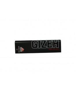 GIZEH Black King Size Slim Blättchen/Paper mit Magnetverschluss (Made in EU)