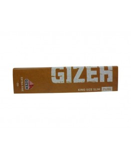 GIZEH PURE King Size Slim Blättchen/Paper aus Bio-Hanf Papier  (Made in AT)