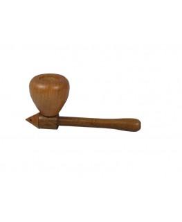 Holzpfeife Mushroom Fronansicht Pfeife