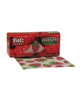 """Juicy Jay's Rolls"" Big Size Raspberry/Himbeere Blättchen/Paper"
