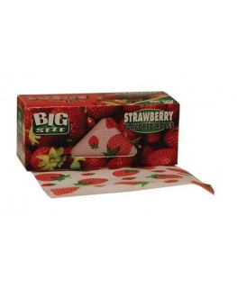 """Juicy Jay's Rolls"" Big Size Strawberry/Erdbeere Blättchen/Ppaers"