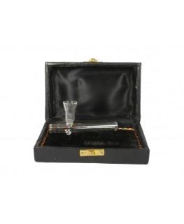 Glas Kawumm L: 100mm mit Box offen Pfeifenansicht