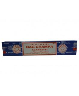 """Räucherstäbchen """"Nag Champa"""" Agarbatti (Blau) als 15g Packung"""