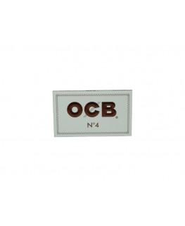 OCB No.4 weiß kurz dünne Zigaretten Blättchen/Papers aus Frankreich