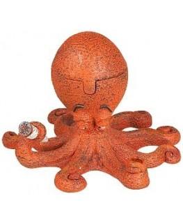 Monster Aschenbecher High Octopus aus Keramik und Kunststoff. H: 10cm