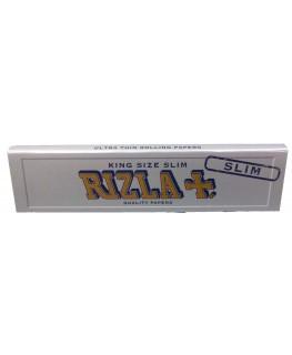 """""""RIZLA"""" Silver King Size extra Slim & ultra dünne """"Blättchen/Papers"""""""