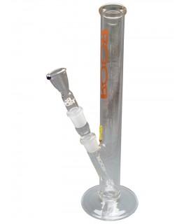 Glasbong 18,8 RooR 3.2mm bronze H:35cm (Schrägansicht)