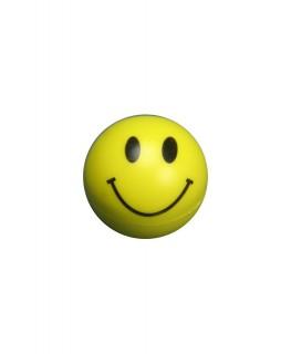 """Runder """"Acrylgrinder/Mühle"""" in gelb mit Smiley Gesicht & Ø:55mm"""