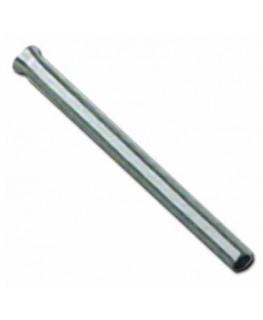 Röhrchen TR 60mm aus Chrom (Silber)