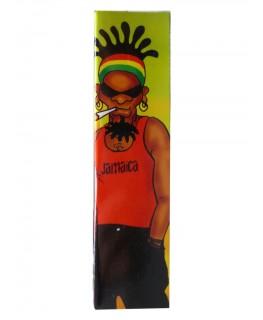 """SNAIL """"Rasta Reggae Man """" Papers/Blättchen als King Size Slim + Filtertips"""