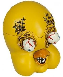 Monster Aschenbecher Ugly Tweety aus Keramik