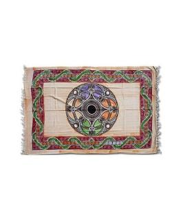 """""""Wandtuch/Festivaldecke"""" im Celtic Snake Design. (Maße: 1,40x2,2m)"""