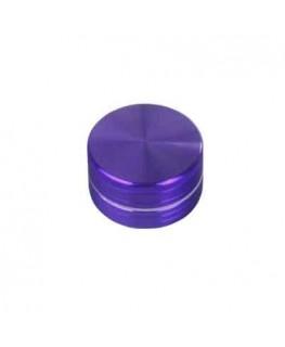 Metallgrinder in lila/Purple, 2-teilig, Gleitring und mit Magnet. Ø:50mm