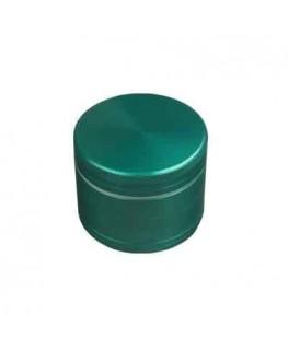 """""""Metallgrinder mit Sieb"""" 4-teilig, Farbe: grün, Magnet, Gleitring & Ø:50mm"""