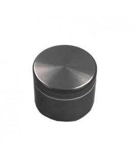 """""""Metallgrinder mit Sieb"""" 4-teilig, Farbe: schwarz, Magnet, Gleitring & Ø:50mm"""