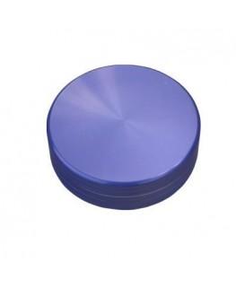 Metallgrinder in lila/Purple, 2-teilig, Gleitring und mit Magnet. Ø:63mm