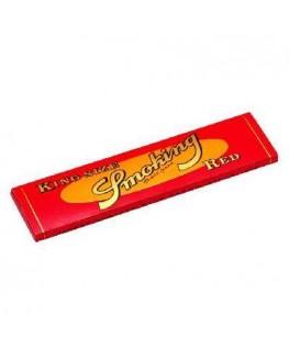 Smoking Red als King Size Blättchen/Papers (breite Blättchen)
