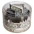 "Filtertips/Jointfilter/Bluntfilter mit ""Hanf-Dollar"" Aufdruck (VE 40stk.)"