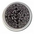 """Black Leaf """"Metallgrinder"""" Celtic, Ø:50mm, Gleitring, Farbe: Silber & 2-teilig"""