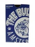 """Grinderkarte/Mühle"" vom Coffeeshop The Bulldog Amsterdam (Verpackung)"