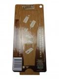 3er Cones Blister unbleached/ungebleichtes natürliches Blättchen (Rückseite)