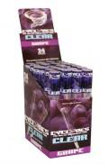 Cyclones Klear Cone Blättchen/Paper mit Grape/Trauben Aroma (24stk.)