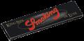 Schwarze Smoking Deluxe King Size Slim Blättchen/Paper