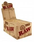 RAW Organic Hemp Connoisseur 1 1/4 Size Blättchen/Papers (VE 32Stück)