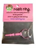 Roach Ring in rosa für deinen Joint/Spliff/Blunt/Zigarette. Made in USA.