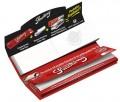 33 Smoking Red King Size Slim Blättchen + 33 breite Filtertips. (Offen)
