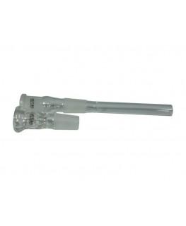 Glasbong 18,8 G-Spot Zylinder Eis H:50cm D:50mm W:2,5mm