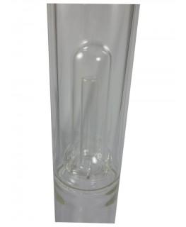 Glasbong 18,8 Zenit Domperc H:50cm D:50mm W:5mm Rasta