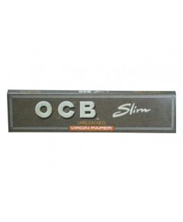 OCB unbleached King Size Slim Blättchen/Papers 109mm x 44mm