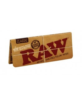 RAW Supreme King Size Blättchen/Papers ohne Knick