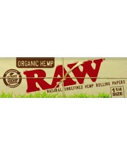 RAW Organic Hemp 1 1/4 Size Blättchen/Papers