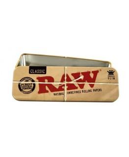 Metalldose von RAW in King Size Länge. Hergestellt in Spanien